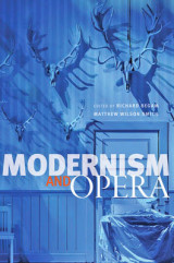 Omslag - Modernism and Opera