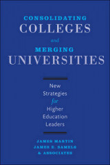 Omslag - Consolidating Colleges and Merging Universities