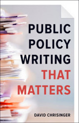 Omslag - Public Policy Writing That Matters