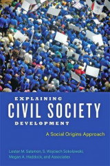 Omslag - Explaining Civil Society Development