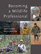 Omslag - Becoming a Wildlife Professional