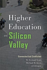 Omslag - Higher Education and Silicon Valley