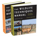 Omslag - The Wildlife Techniques Manual: Volumes 1 and 2