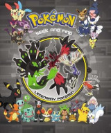 Omslag - Pok�mon Seek and Find - Legendary Pokemon