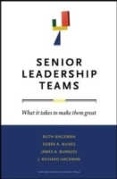 Senior Leadership Teams av James A. Burruss, J. Richard Hackman, Debra A. Nunes og Ruth Wageman (Innbundet)