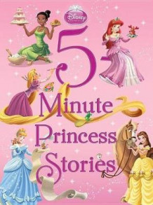 5-Minute Princess Stories av Disney Book Group (Innbundet)