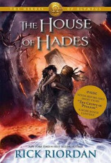 Omslag - The House of Hades (Heroes of Olympus, The, Book Four)