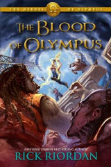 Omslag - The Blood of Olympus (Heroes of Olympus #05)