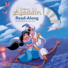 Aladdin Read-Along Storybook and CD av Disney Book Group (Heftet)