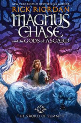 Omslag - Magnus Chase and the Gods of Asgard, Book One: The Sword of Summer