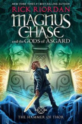 Omslag - Magnus Chase and the Gods of Asgard, Book 2: The Hammer of Thor