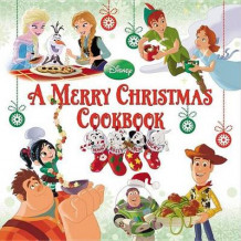 A Merry Christmas Cookbook av Disney Book Group (Innbundet)