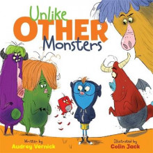 Unlike Other Monsters av Audrey Vernick (Innbundet)