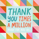 Omslag - Thank You Times a Million