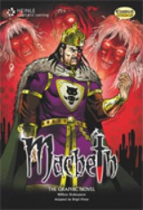 Omslag - Macbeth (British English): Classic Graphic Novel Collection