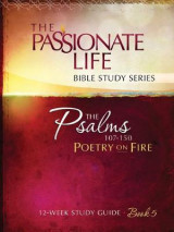Omslag - Psalms: Poetry on Fire Book Five 12-Week Study Guide