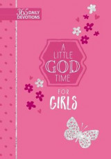 Omslag - A 365 Daily Devotions: Little God Time for Girls
