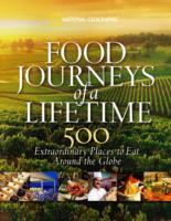 Food Journeys of a Lifetime av National Geographic (Innbundet)