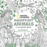 Omslag - National Geographic Magnificent Animals: Coloring Book