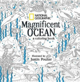Omslag - National Geographic Magnificent Ocean: A Coloring Book
