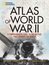 Omslag - Atlas of World War II