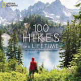 Omslag - 100 Hikes of a Lifetime