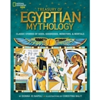 Treasury of Egyptian Mythology av Donna Jo Napoli (Innbundet)