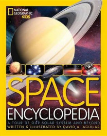 Space Encyclopedia av David A Aguilar (Innbundet)