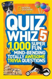 National Geographic Kids Quiz Whiz 5 av National Geographic Kids (Innbundet)