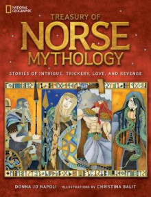 Treasury of Norse Mythology av Donna Jo Napoli (Innbundet)