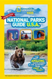 National Geographic Kids National Parks Guide USA CentennialEdition av NATIONAL GEOGRAPHIC KIDS (Innbundet)