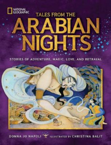 Tales from the Arabian Nights av Professor of Linguistics Donna Jo Napoli (Innbundet)
