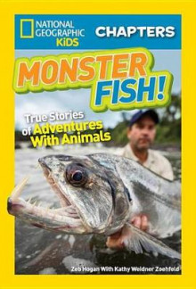 National Geographic Kids Chapters: Monster Fish! av Zeb Hogan og Kathleen Weidner Zoehfeld (Innbundet)