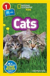 National Geographic Readers: Cats (Level 1 Co-Reader) av Joan Marie Galat og National Geographic Kids (Innbundet)