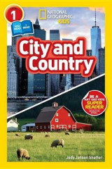 Omslag - National Geographic Kids Readers: City/Country