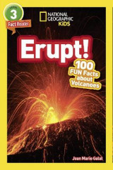 Omslag - National Geographic Kids Readers: Erupt!