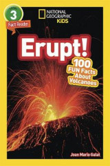 Omslag - National Geographic Readers: Erupt! 100 Facts about Volcanoes