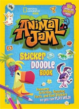 Omslag - Animal Jam Sticker Doodle Book