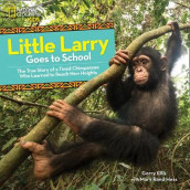 Little Larry Goes to School av National Geographic Kids (Innbundet)