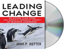 Leading Change av John Kotter (Lydbok-CD)