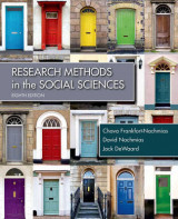 Omslag - Research Methods in the Social Sciences