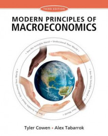 Modern Principles of Macroeconomics av Author Tyler Cowen og Alex Tabarrok (Heftet)