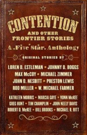 Contention and Other Frontier Stories av Johnny D Boggs, Loren D Estleman, Max McCoy og Michael Zimmer (Innbundet)