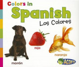 Omslag - Colors in Spanish: Los Colores (World Languages - Colors)