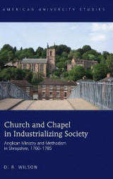 Omslag - Church and Chapel in Industrializing Society