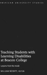 Omslag - Teaching Students with Learning Disabilities at Beacon College