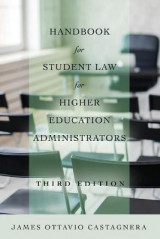 Omslag - Handbook for Student Law for Higher Education Administrators, Third Edition