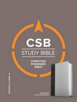 Omslag - CSB Study Bible, Gray/Black Cloth Over Board