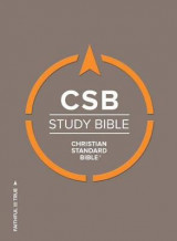 Omslag - CSB Study Bible, Hardcover, Indexed