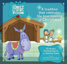 The Donkey in the Living Room Nativity Set av Sarah Cunningham (Blandet mediaprodukt)